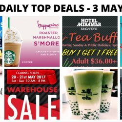BQ's Daily Top Deals: Jetstar Citi Credit Cards Exclusive Sale, Hotel Miramar 1-for-1 Hi-Tea Buffet, KOI Matcha Latte Coming Soon, The Oaks Cellars Warehouse Sale, BHG Expo Sale & More!