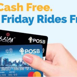 DBS/POSB Cards: Go Cash Free & Get Friday Rides Free!