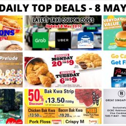 BQ's Daily Top Deals: Offers on Fast Food from McDonald's, KFC & Jollibee, Craftholic Buy 1 Get 1 FREE Slippers, Robinsons GSS, $8 for 2 hour KTV, Latest Taxi Codes & More!