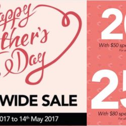 Bee Cheng Hiang: Mother's Day Storewide Sale with Up to 25% OFF + Additional 5% OFF for Members