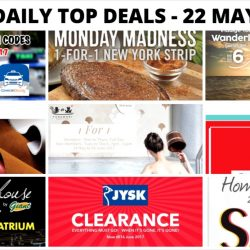 BQ's Daily Top Deals: Latest Taxi Codes, 1-for-1 Onsen Entry, Coach Outlet Special Sale, Cotton On Great Singapore Sale & More!