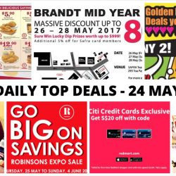 BQ's Daily Top Deals: Popeyes Coupons, Robinsons Expo Sale, Brandt Mid Year Sale, Long John Silver's Mix & Match 2 for $10 & More!