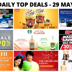 BQ's Daily Top Deals: Latest Taxi Codes, 1-for-1 Beverage at J.Co Donuts & Coffee, Key Power Sports Warehouse Sale, 1-for-1 Admission to Wild Wild Wet & More!