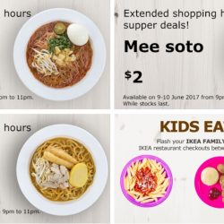IKEA: $2 Extended Shopping Supper Deals & Kids Eat FREE!
