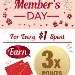 [Bee Cheng Hiang Singapore] Mark your calendars as Bee Cheng Hiang will be having an exclusive Member's Day tomorrow!