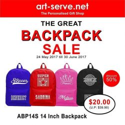 [Artserve Personalised Gift Shop] The Great Singapore Sales is here!