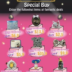 [Sanrio Gift Gate] More Character Ranking FANTASTIC DEALS coming your way this month!