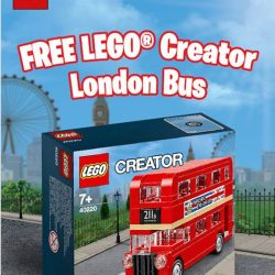 [The Brick Shop] FREE LEGO® Creator London Bus when you spend $100 nett and above in a single receipt on any LEGO® product(