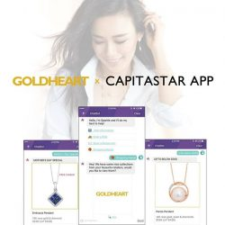 [Goldheart Jewelry Singapore] Goldheart is now in Chatbot Sparkle!
