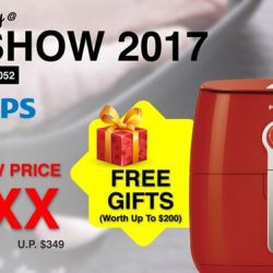[Best Denki] Get your Philips HD9623 Air Fryer at a special price exclusively @ the PC Show 2017 and receive free gifts worth
