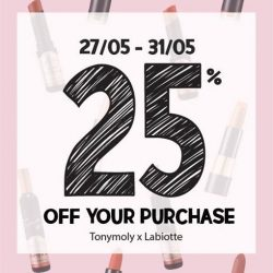 [Tony Moly Singapore] Pre Great Singapore Sale with Tonymoly!