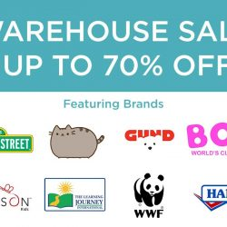 [Natures Collection] Soft Toys Warehouse Sale from 19th - 21st May.