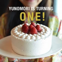 [Yunomori Onsen and Spa] We are turning ONE on 26 May!