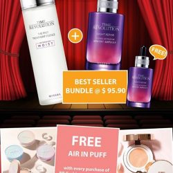 [Missha Singapore] Due to popular demand, the Best Seller Duo Bundle promotion has been extended!
