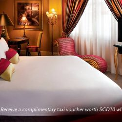 [Scarlet City] Be rewarded with a complimentary $10 taxi voucher on top of the best room rate!