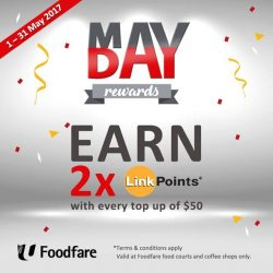 [Foodfare] DOUBLE YOUR REWARDS THIS MAY!