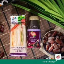 [7-Eleven Singapore] Break fast quick and easy with our Ramadan specials!