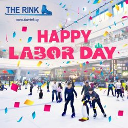 [THE RINK] Give yourself a pat on the back and reward yourself with some fun on the ice, because you deserve it!