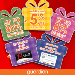 [Guardian] Enjoy further reductions at the Guardian Super Sale!
