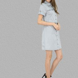 [MOONRIVER] Cherry Sleeve Front Button Dress - Dress in style for work and playUp to 50% for regular items and up