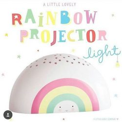 [PriviKids] Available in limited pieces, the rainbow projector light is ideal for baby and kids, with a sweet tune, stars shining