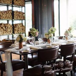 [Wooloomooloo Steak House] May the lovely couple live happily ever after!