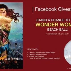 [Filmgarde Cineplex] Stand a chance to win WONDER WOMAN movie premium!