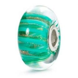 [Trollbeads] Trollbeads trick: Using only one spacer to keep the glass bead in place the Troll Anemone can twist its way