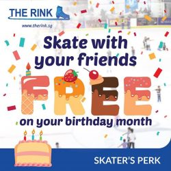 [THE RINK] Add a special touch to your birthday!