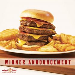 [Wing Zone Singapore] Congratulations NazRoy Mohamed!