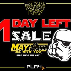 [PLAYe] Only 1 day left to get your Star Wars loot!