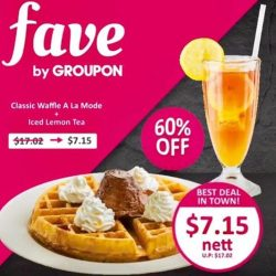 [Gelare Café] Hi guys, today is the last day for our deal to feature on Fave by Groupon SG.
