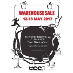 [Egg3] Warehouse Sale 12 and 13 May 2017