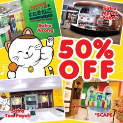 [Manekineko Karaoke Singapore] Limited time offer - 50% off usual price!