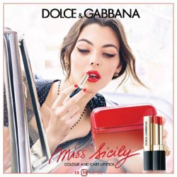 [Metro] Inspired by the free-spirited attitude of the Sicilian lifestyle, Dolce&Gabbana introduces its first colour and care lipstick, Miss