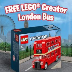 [Bricks World (LEGO Exclusive)] GWP - LEGO® Creator London BusIt's happening from 23 May to 8 June!