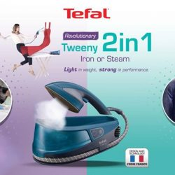 [Tefal] Missed out on the fun at our previous Tweeny 2-in-1 ironing challenge?