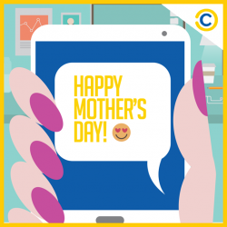[Courts] To the woman who will forever be number 1 in our lives, Happy Mother's Day from COURTS!