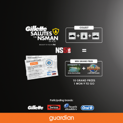 [Guardian] Gillette salutes the NSMan in you!