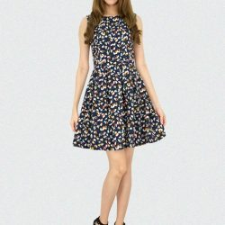 [MOONRIVER] Gina Classic Floral Fit and Flare Dress  - Get Inspired, Get in StyleCurrent Promotion Storewide -Back by popular demand - Get