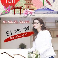 [Optique Paris-Miki] Look out for Paris Miki 'Japan Fair' at Plaza Singapura from 1 ~ 4 JUNE 2017 Enjoy great promotions on the
