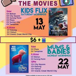 [Golden Village] Mark down these dates on your calendar cus' we've got some POPPIN' good flicks just for your little ones!