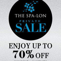 [The Spa-Lon] Dear Members, are you ready for our private sale this Saturday?