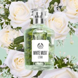 [The Body Shop Singapore] Free your senses with NEW White Musk® L'Eau fragrance, laced with the delicate freshness of white flowers.