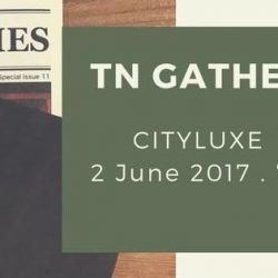 [Cityluxe] We are having the 1st Official Traveler's Notebook gathering in Singapore!