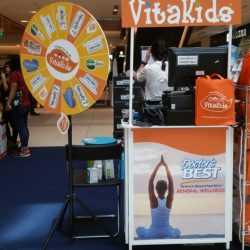 [VitaKids] Did you manage to pop by our VitaKids Atrium Sales and have a go at the Spin & Win?