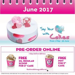 [Baskin Robbins] Thinking to have a cake as part of your coming soon celebration?