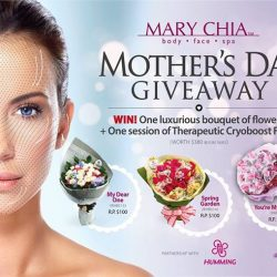 [MARY CHIA/URBAN HOMME] Congratulations to the 3 lucky winners for the Mother's Day Facebook Giveaway Contest!