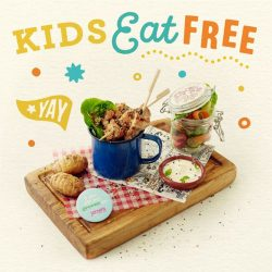 [Jamie's Italian] Kids eat free is back!
