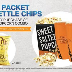 [Filmgarde Cineplex] Free packet of Kettle chips with every purchase of a large popcorn combo!